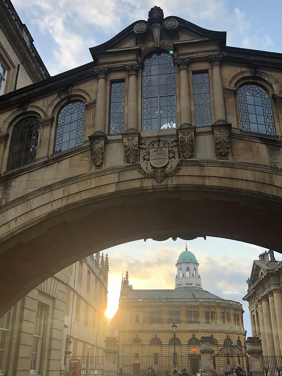 Bridge of Sighs and Sheldonian Theatre, Oxford