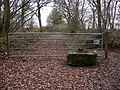 Bridle gate in Collins Copse - geograph.org.uk - 2249056.jpg