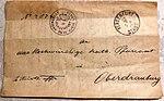 Brief in Kurrentschrift von 1893 an das Kath. Pfarramt in Oberdrauburg, Kärnten.jpg