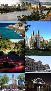 Brisbane-city-montage