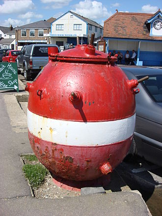 Naval mine - British Mk 14 sea mine