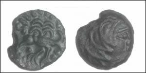 Bronze Celtic Coin (Senones - Gallia) DT.2633