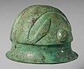 Bronze helmet MET DP251324.jpg
