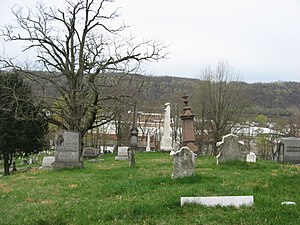 National Register of Historic Places listings in Brooke County, West Virginia - Image: Brooke Cemetery