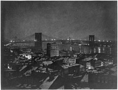 Brooklyn Bridge at Night New York City 1903 Aerial View.jpg