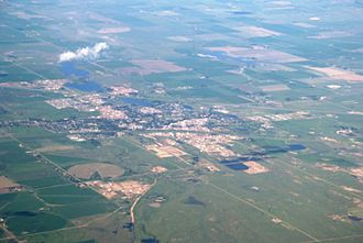 Brooks, Alberta - Brooks from the air