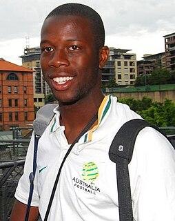 Bruce Djite Australian soccer player