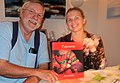 Bruce McMillan and Halla Osk Olafsdotir with their book.jpg