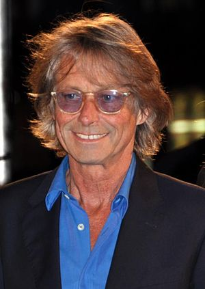 Bruce Robinson - Robinson at the premiere of The Rum Diary
