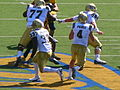 Bruins on offense at UCLA at Cal 2010-10-09 6.JPG