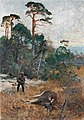 Bruno Liljefors - Älgjägare i gryningsljus 1890.jpg