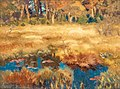 Bruno Liljefors - Autumn landscape with fox 1918.jpg
