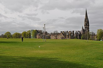 Bruntsfield Links - Golf is still played on the Links in the form of a 36-hole Short Hole Golf Course