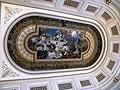 Bucuresti, Romania, Palatul Regal (Muzeul National de Arta al Romaniei - Pavilionul Sala Tronului - interior 16 - plafon ); B-II-m-A-19856.JPG