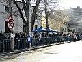 Bucuresti, Romania. Coada la Inchinarea la Icoana Maicii Domnului Iordanita expusa la Biserica Icoanei.jpg