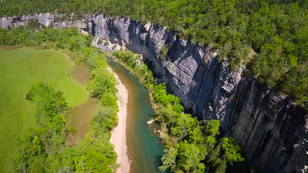America's first National River, Buffalo National River, is located just south of Harrison Buffalo National River, Harrison, AR.png