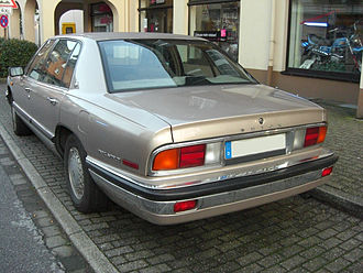 Buick Park Avenue - Image: Buick Park Avenue 1.Version rear