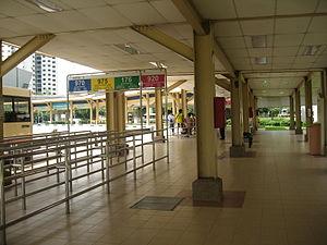 Bukit Panjang Bus Interchange - Image: Bukit Panjang Bus Interchange 2
