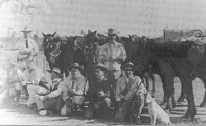 Bulawayo - Bulawayo Scouts in 1893