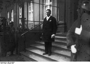 D. A. Binchy -  Binchy as ambassador in Berlin