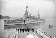 "Bundesarchiv Bild 102-10062, Kiel, US-Schlachtschiff ""Arkansas"""