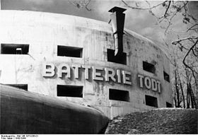 Image illustrative de l'article Batterie Todt