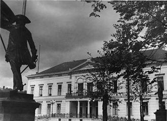 Ordenspalais - The Ordenspalais in 1936