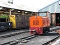 Bure Valley railway - diesel shunter no 4 - geograph.org.uk - 1819876.jpg