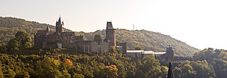 Altena - View of Altena Castle in September 2008
