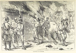 Anglo-Ashanti wars - The 1874 burning of Kumasi