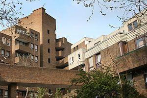 South Quay Estate - Burr Close - eastern aspect