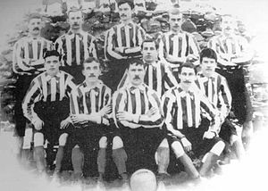 Bury F.C. - Bury team pictured in 1892
