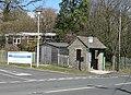 Bus shelter outside Dilke Memorial Hospital - geograph.org.uk - 759970.jpg
