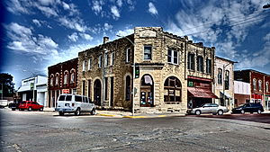 Chapman, Kansas - Business District in Chapman (2014)