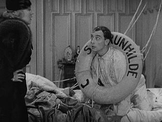 The Timid Young Man - Image: Buster as Milton in The Timid Young Man 1935