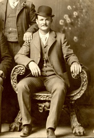 Butch Cassidy - Fort Worth, Texas, 1900