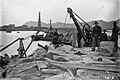 Byggingen av en molo på Andenes i Nordland i 1902.jpg