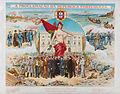 Cândido da Silva - A PROCLAMAÇÃO DA REPUBLICA PORTUGUEZA; Principaes acontecimentos em Lisboa a 5 de Outubro 1910-Principaux évenements dans le 5 Octobre 1910.jpg