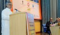 """C.P. Joshi addressing the International Seminar on """"Pre Engineered and Quick Launch Bridges"""" jointly organised by Ministry of Road Transport & Highways, the Railways.jpg"""