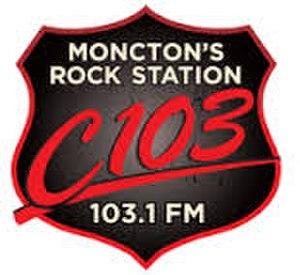 CJMO-FM - Image: C103Monctonlogo