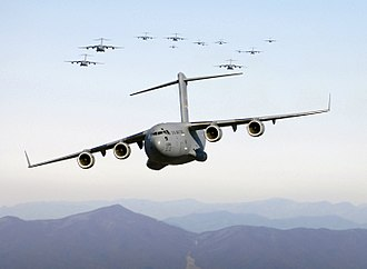 315th Operations Group - C-17 Globemaster IIIs of the 315th Operations Group