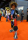 Cosplayer de Sora.