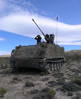 Variants of the M113 armored personnel carrier - Argentine Army M113 with 20mm GAI-BO1 gun, 2015