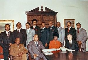 Congressional Black Caucus - Image: CB Cfoundingmembers