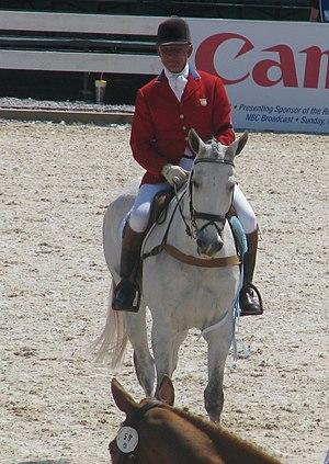 Bruce Davidson (equestrian) - Image: CCI Lexington 2009 Bruce Davidson Sr Cruise Lion