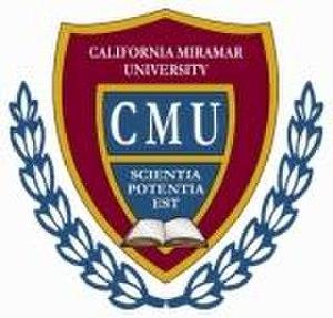 California Miramar University - Seal of California Miramar University