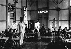 Rumah sakit jiwa di Lawang pada masa penjajahan Belanda.
