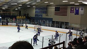 Hobbs Municipal Ice Center - Image: CSS vs. UWEC at Hobbs (1)