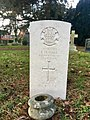 CWGC graves at Cathays Cemetery, December 2020 12.jpg