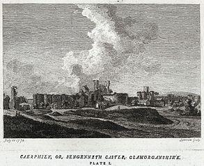 Caerphily, or Sengenneth castle, Glamorganshire